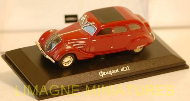 Peugeot 402 Gazogène 1939 Norev Presse 1//43