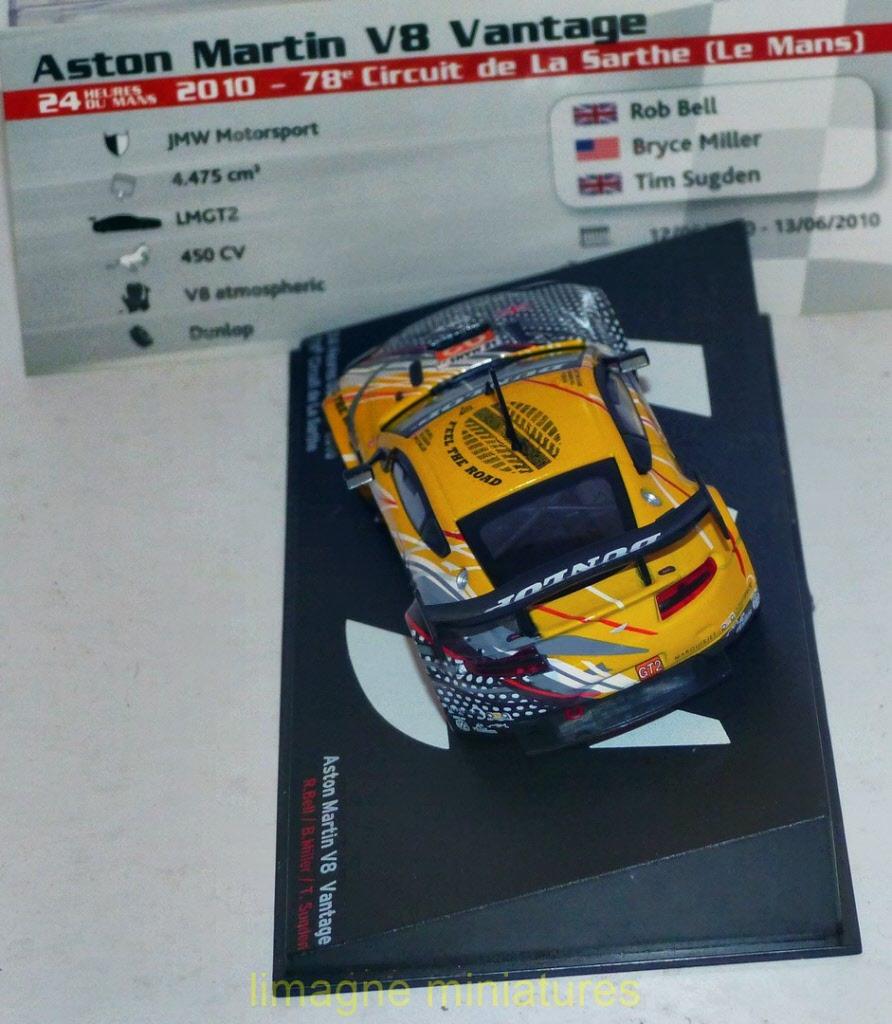 PASSION VITESSE Altaya Lola B09//60 Aston Martin 2010 Le Mans Ickx Ixo 1//43